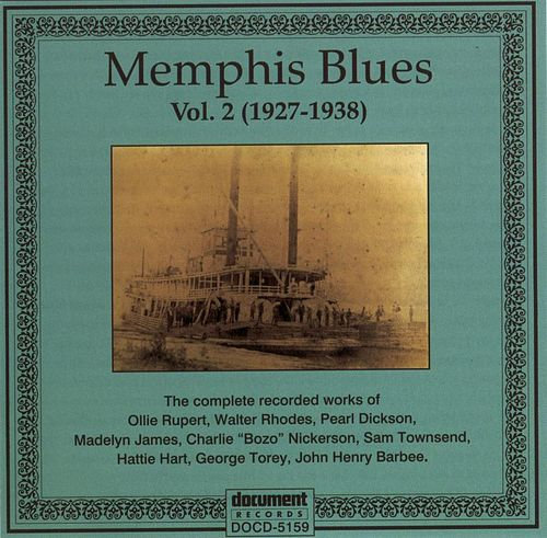 Memphis Blues 1927 - 1938 by Various Artists