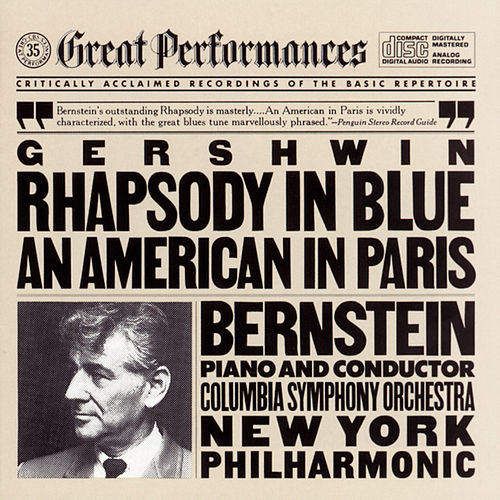 Gershwin: Rhapsody in Blue/An American in Paris de Various Artists