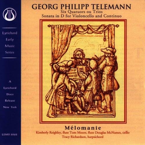 Melomanie Quatuors Ou Trios von Georg Philipp Telemann