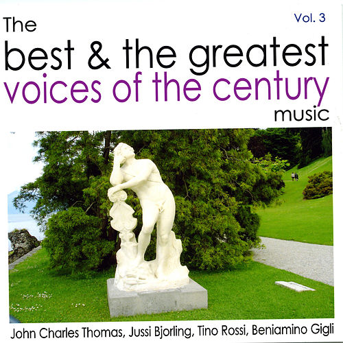 The Best and the Greatest Voices Of The Century Vol.3 von Various Artists