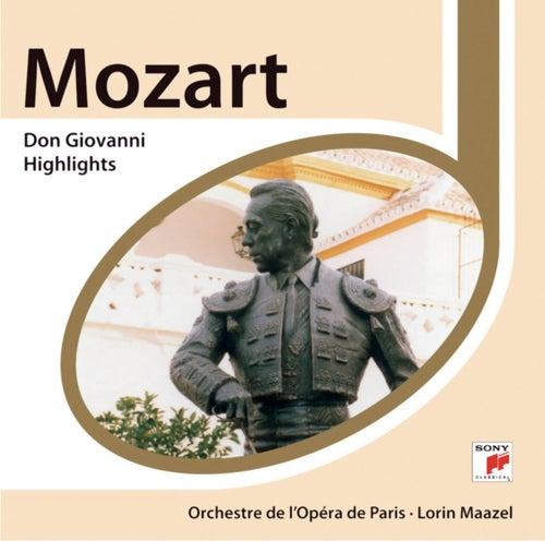 Mozart: Don Giovanni Highlights by Lorin Maazel