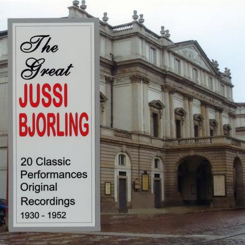 The Great Jussi Bjorling von Jussi Bjorling