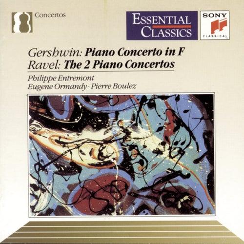 Gershwin & Ravel: Piano Concertos de Philippe Entremont