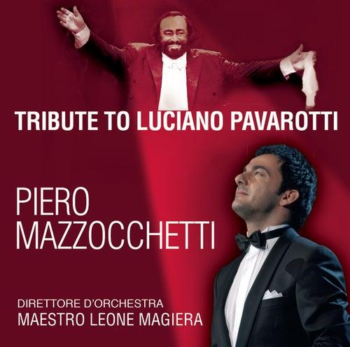 Tribute To Luciano Pavarotti by Piero Mazzocchetti