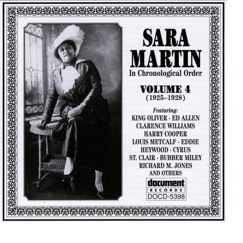 Sara Martin Vol. 4 (1925-1928) by Sara Martin