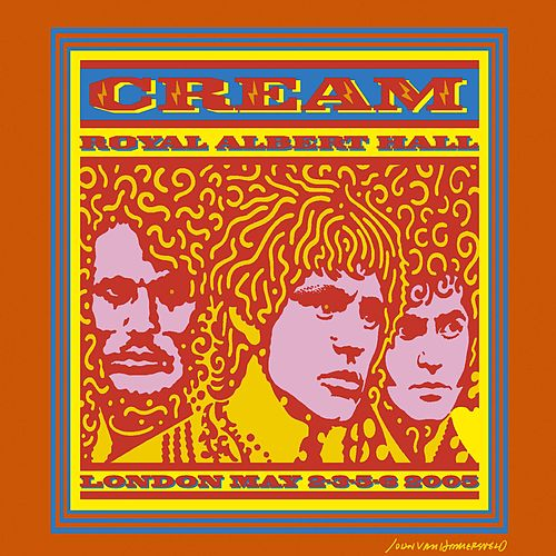 Royal Albert Hall London May 2-3-5-6 2005 de Cream