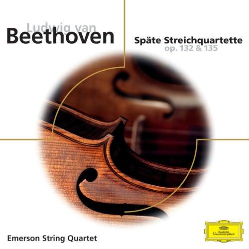 Beethoven: Späte Streichquartette op.132 & 135 by Emerson String Quartet