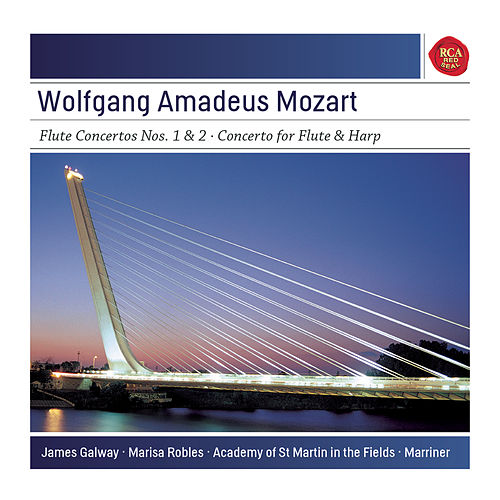 Mozart: Concertos for Flute & Harp by James Galway