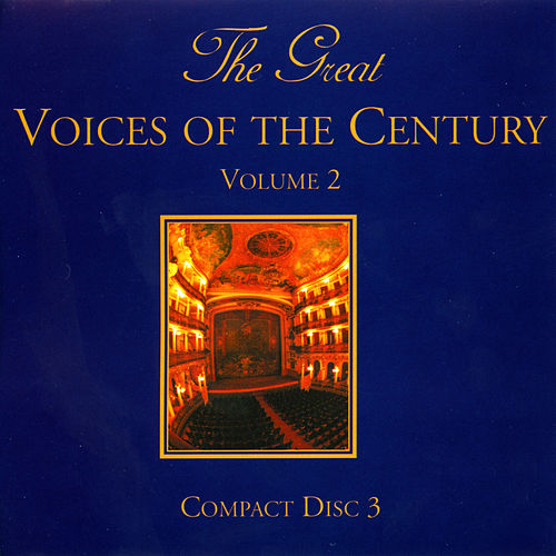 The Great Voices Of The Century Volume Six von Various Artists