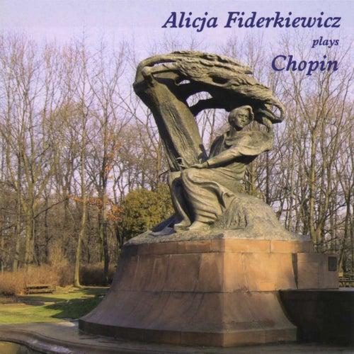 Alicja Fiderkiewicz Plays Chopin de Alicja Fiderkiewicz
