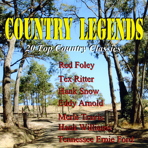 Country Legends - 20 Top Counrty Classics by Various Artists