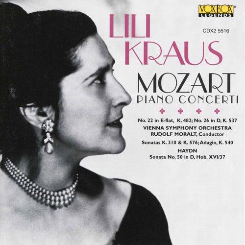 Lili Kraus Plays Mozart / Haydn de Vienna Symphony Orchestra