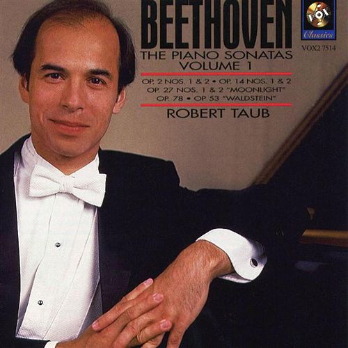 Beethoven: The Piano Sonatas Volume I de Robert Taub