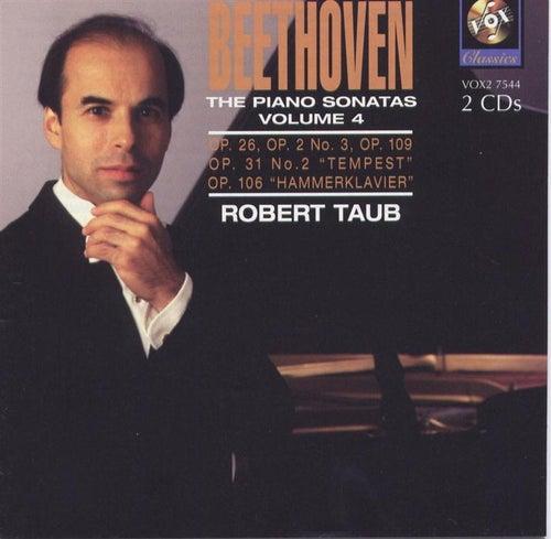 Beethoven: The Piano Sonatas Volume Iv de Robert Taub