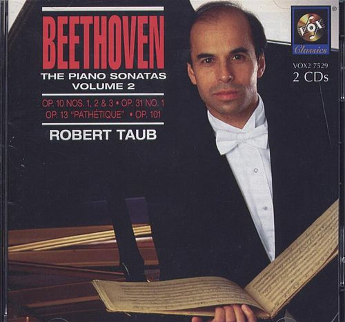 Beethoven: The Piano Sonatas Volume Ii de Robert Taub