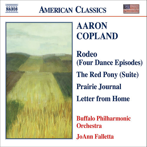 COPLAND: Prairie Journal / The Red Pony Suite / Letter from Home de The Buffalo Philharmonic Orchestra