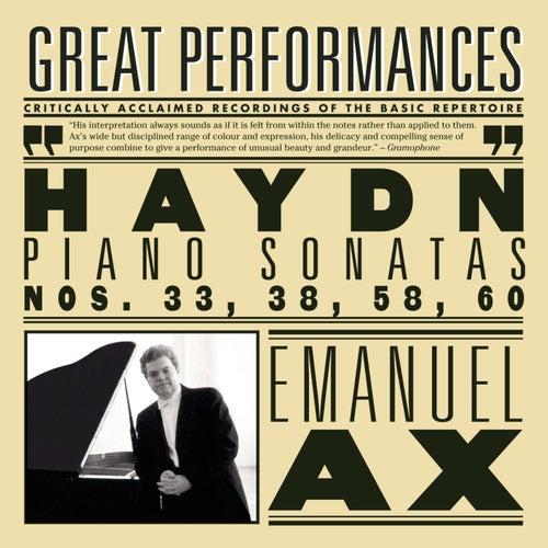 Haydn: Sonatas Nos. 33, 38, 58, 60 by Franz Joseph Haydn