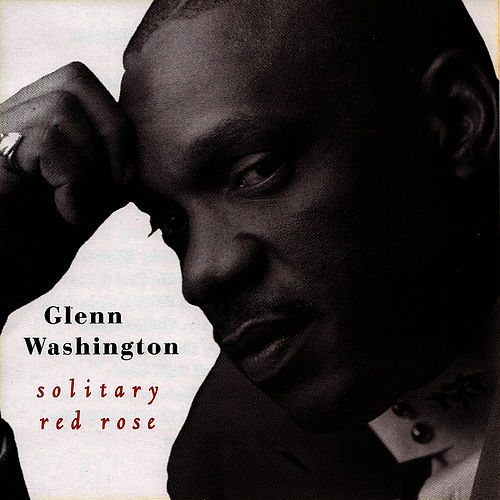 Solitary Red Rose von Glen Washington