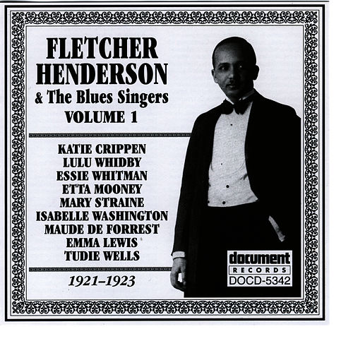 Fletcher Henderson and The Blues Singers Vol. 1 (1921-1923) de Fletcher Henderson