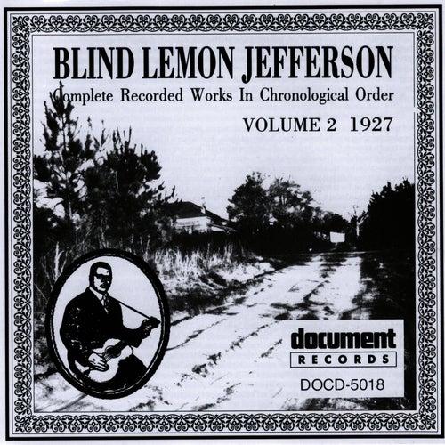 Blind Lemon Jefferson Vol. 2 (1927) von Blind Lemon Jefferson