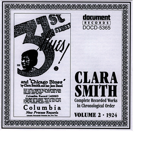Clara Smith Vol. 2 (1924) by Clara Smith