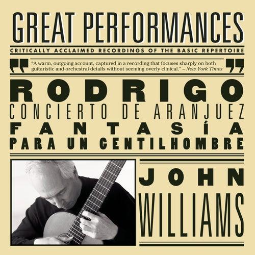 Rodrigo: Concierto de Aranjuez, Fantasía para un gentilhombre; Albeniz von John Williams, Louis Frémaux, The Philharmonia Orchestra