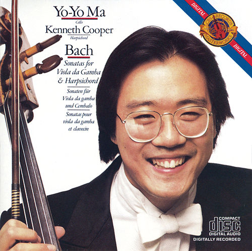 Bach: Sonatas for Viola da Gamba & Harpsichord, BWV 1027-1029 by Yo-Yo Ma
