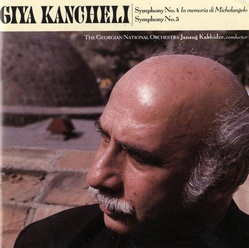 Giya Kancheli: Symphonies Nos. 4 & 5 de Giya Kancheli