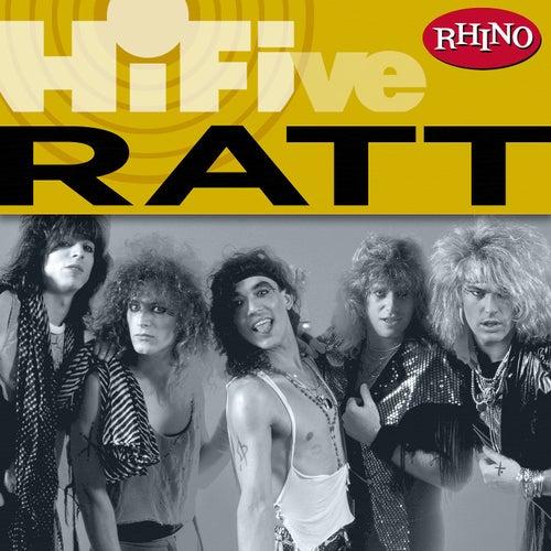 Rhino Hi-five: Ratt by Ratt