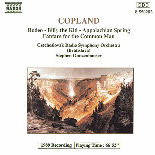 Rodeo / Billy the Kid / Appalachian Spring von Aaron Copland