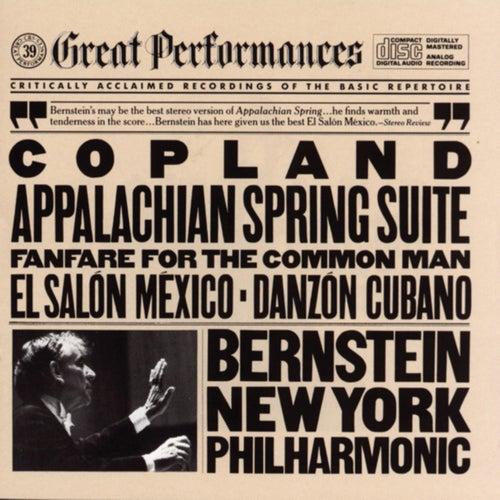Bernstein Conducts Copland von Leonard Bernstein, Hildegard Behrens, Peter Hofmann, Yvonne Minton, Bernd Weikl, Hans Sotin, Symphonieorchester des Bayerischen Rundfunks