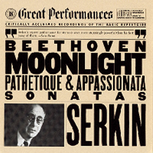 Beethoven: Piano Sonatas Nos. 8, 14 & 23 by Rudolf Serkin