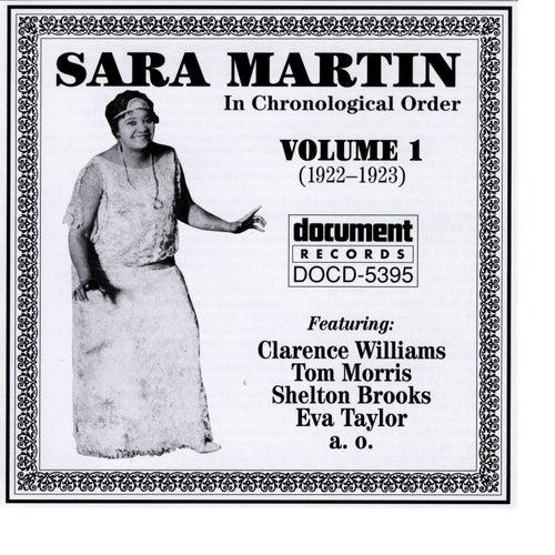 Sara Martin Vol. 1 (1922-1923) by Sara Martin