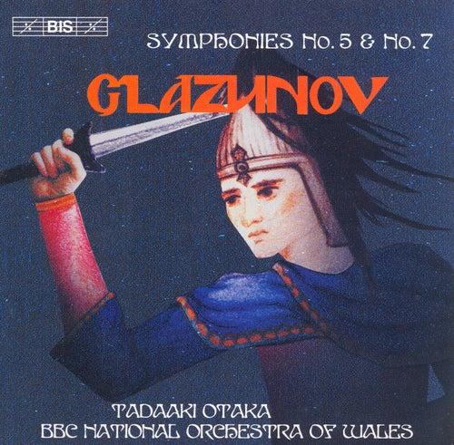 Symphonies Nos. 5 and 7 de Alexander Glazunov