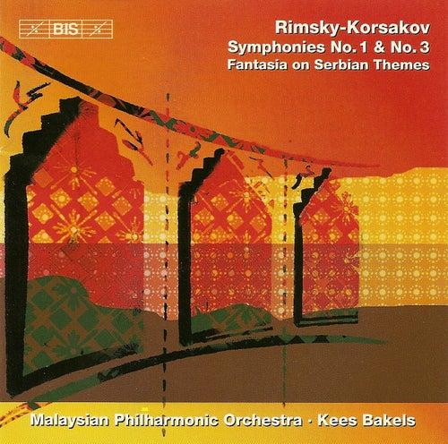 Symphonies Nos. 1 and 3/Fantasia On Serbian Themes von Nikolai Rimsky-Korsakov