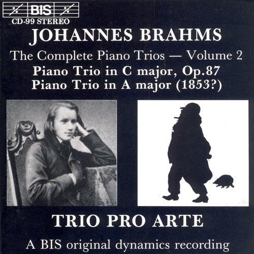 Piano Trios, Vol. 2 de Johannes Brahms
