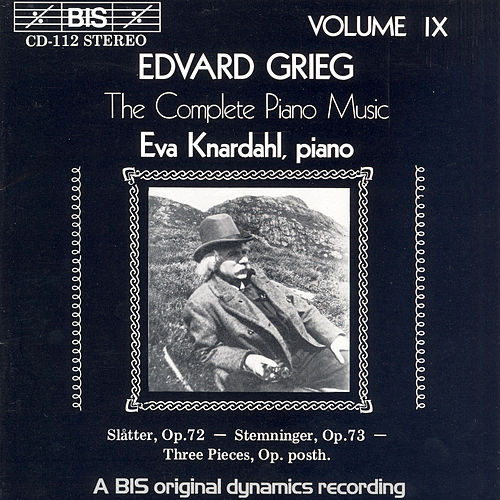 Complete Piano Music, Vol. 9 by Edvard Grieg