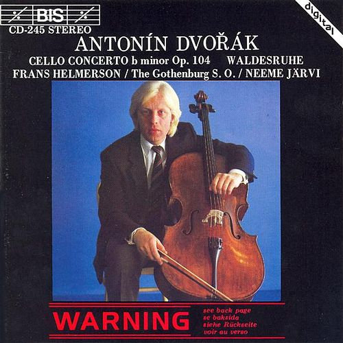 Cello Concerto/Waldesruhe de Antonin Dvorak