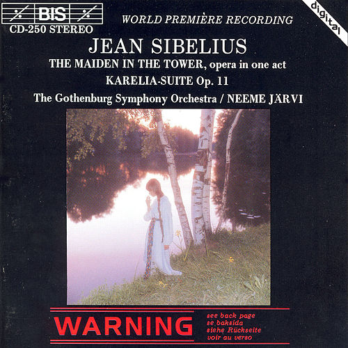The Maiden In The Tower/Karelia Suite von Jean Sibelius