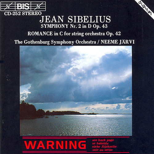 Symphony No. 2 In D Major, Op. 43 / Romance In C Major, Op. 42 von Jean Sibelius