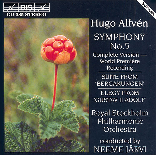 Mountain King Suite/Symphony No. 5/Gustav II Adolf: Elergy by Hugo Alfven