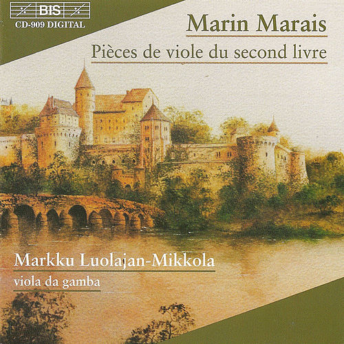 Pieces De Viole Du Second Livre de Marin Marais