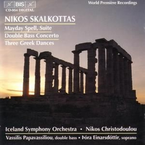 SKALKOTTAS: Orchestral Music by Iceland Symphony Orchestra