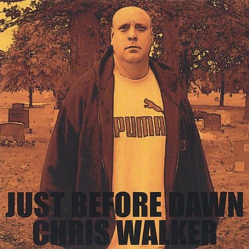 JUST BEFORE DAWN  EP-CD by Chris Walker