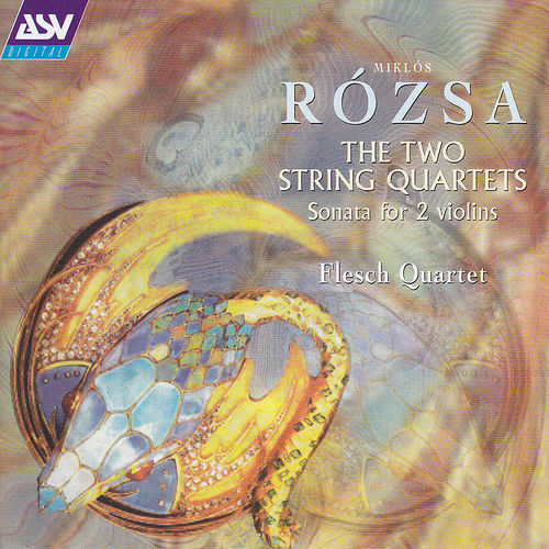 Rozsa:  Two String Quartets  de Miklos Rozsa