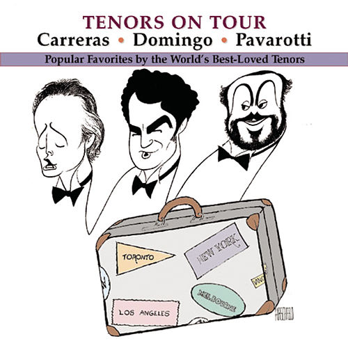Tenors on Tour de Plácido Domingo, Richard Tucker