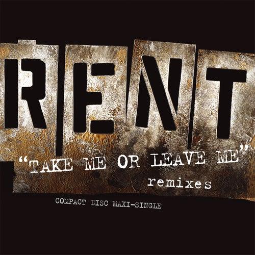 Take Me Or Leave Me by Jonathan Larson