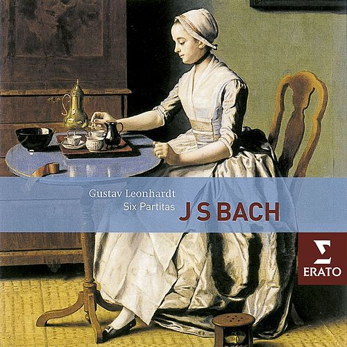 Bach: 6 Partitas BWV 825-830 van Gustav Leonhardt