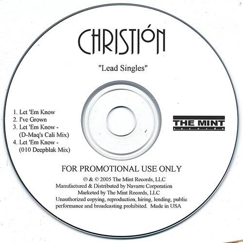 Let  'em Know / I've Grown by Christión
