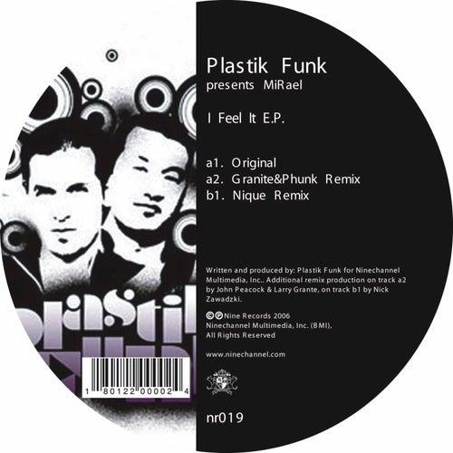 I Feel It EP by Plastik Funk